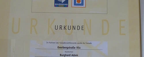 2009. besondere Gestaltung.Overberg 95c