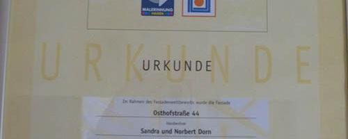 2009.2. Fassadenpreis.Osthof 44